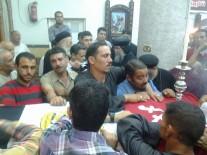 أسقفان يترأسان الصلاة علي شهداء الوطن بالمنيا