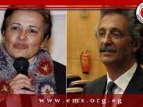 شهادة حسين خيرى ومنى مينا أمام النيابة…