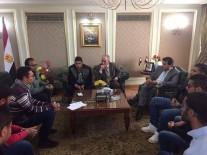 وزير التعليم يلتقى بطلاب العريش لحل مشكلاتهم