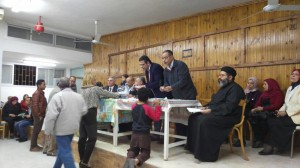 محافظة الإسماعيلية تجري قرعة لتوزيع الشقق على أقباط العهريش المهجرين2
