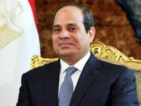 السيسى يستقبل رئيس الوزراء العراقى