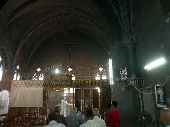كنيسة  محترقة - السويس (2)