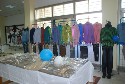 جامعة حلوان -تفتتح مهرجان- خيرى-خدمة الطلاب- غير- القادرين- ملابس- (3)