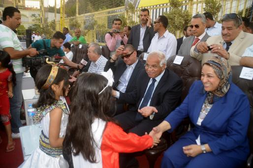 إنطلاق دوري لعيبه بلدنا بحضور محافظ القاهرة  2