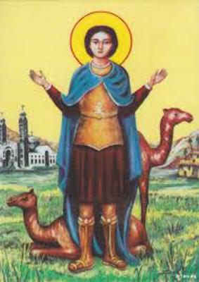 القديس مارمينا المرشد لطريق ديرة