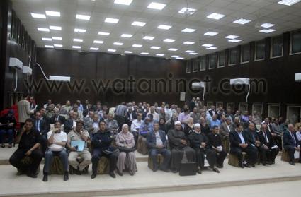 المسستشار وائل مكرم محافظ الفيوم (1)