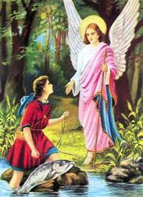 الملاك رافائيل مفرح القلوب