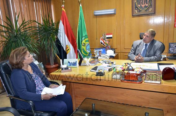 ياسين- حسام الدين طاهر بتولي- محافظ  الإسماعيلية (1)