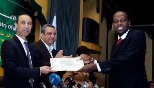 الأمير يشهد تخرج دفعة جديدة من الصحفيين الأفارقة8