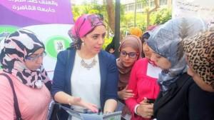 تنظم فاعليات طلابية ليوم المرأة المصرية1