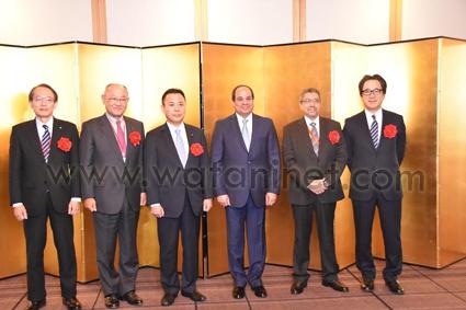 لمصري الياباني- يستعرض نتائج حضور الرئيس المؤتمر المشترك للمجلس (1)