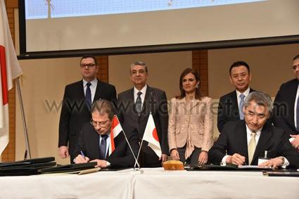 لمصري الياباني- يستعرض نتائج حضور الرئيس المؤتمر المشترك للمجلس (3)