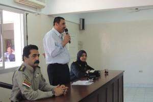 دورة تدريبية لتنمية مهارات أفراد الشرطة