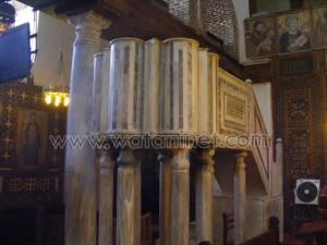 كنيسة القديسة بربارة الاثرية بمصر القديمة0