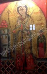 كنيسة القديسة بربارة الاثرية بمصر القديمة03