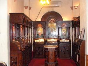 كنيسة القديسة بربارة الاثرية بمصر القديمة08