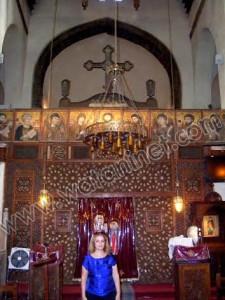 كنيسة القديسة بربارة الاثرية بمصر القديمة09