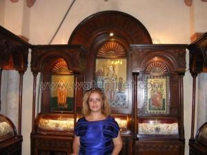 كنيسة القديسة بربارة الاثرية بمصر القديمة2