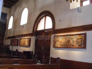 كنيسة القديسة بربارة الاثرية بمصر القديمة24