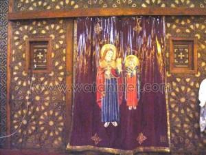 كنيسة القديسة بربارة الاثرية بمصر القديمة29