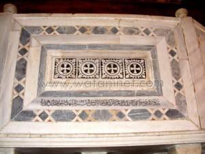 كنيسة القديسة بربارة الاثرية بمصر القديمة4