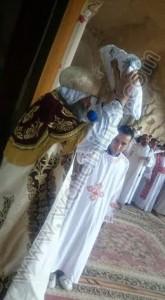 نيافة الأنبا أبانوب يترأس قداس أحد الشعانين بدير سمعان الخراز5