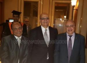الأكاديمية العربية تحتفل بالحاصلين علي الماجستير7