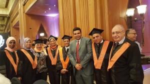 الأكاديمية العربية تحتفل بالحاصلين علي الماجستير8