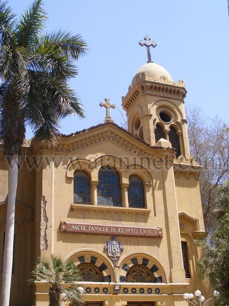 رقم  0    واجهة كنيسة العائلة  المقدسة للاقباط الكاثوليك copy