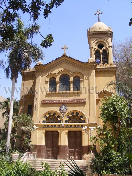 رقم  4  كنيسة العائلة المقدسة  ومنارته copy