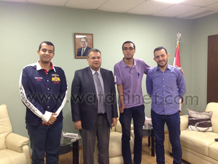 شباب حزب الوفد يزو الطائفة الإنجيلية و الارثوذكسية (1)