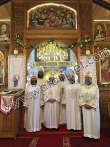 مؤتمر مجمع كهنة إيبارشية الدول الإسكندنافية بجنوب السويد1