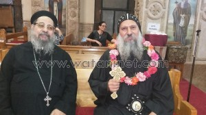 العذراء المليحة تحتفل بعيد رسامة الأنبا ماركوس والقس لوقا لبيب1