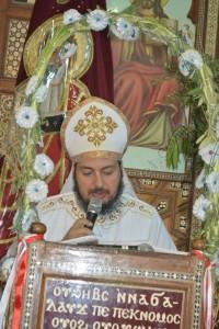 الأنبا ديمتريوس يحتفل بعيد الصليب بملوي3