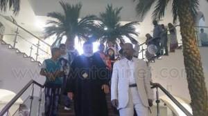 كاهن كنيسة بنبان بأسوان يشارك في احتفالات انتصارات اكتوبر بمتحف النيل