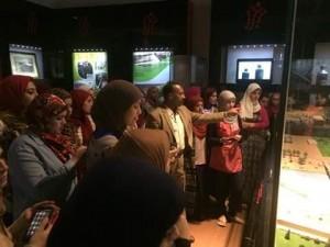 متحف النيل بأسوان يستقبل 219 من عضوات1
