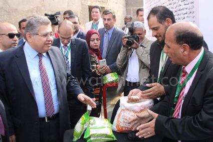 وزير التعليم العالى يفتتح معرض القاهرة الدولي الثالث للابتكار  (3)