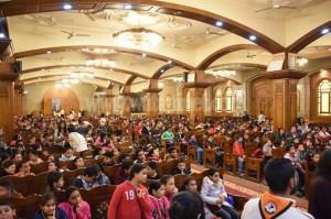 الأنبا دوماديوس يشهد حفل ختام مهرجان الكرازة بـ6 اكتوبر3
