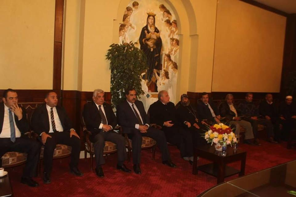 محافظ جنوب سيناء يُرسل برقية عزاء للأنبا أبوللو(3)