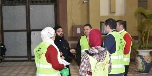 جمعية شباب من أجل مصر تشارك الكنيسة في الاحتفال برأس السنة1