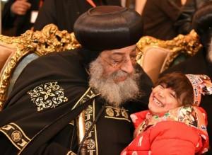 البابا تواضروس يشهد كرنفال الأطفال الأيتام بنادي آمون1