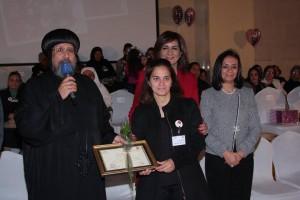 الأنبا ارميا يكرم أمهات الشهداء بالمركز الثقافي3