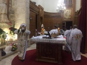 كنيسة العذراء وماريوحنا بباب اللوق تصلي ليلة ابو غلمسيس11