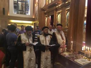 كنيسة العذراء وماريوحنا بباب اللوق تصلي ليلة ابو غلمسيس13