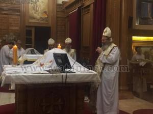 كنيسة العذراء وماريوحنا بباب اللوق تصلي ليلة ابو غلمسيس3
