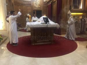 كنيسة العذراء وماريوحنا بباب اللوق تصلي ليلة ابو غلمسيس7
