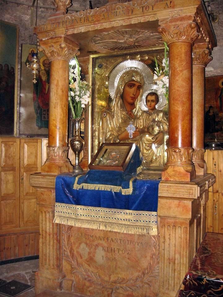8مع المسيح في طريق الآلام عند قبر العذراء مريم