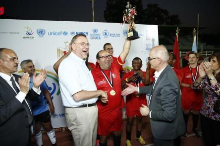 الأمم المتحدة والسفارات الفرنكوفونية يحتفلون بيوم الرياضة(1)