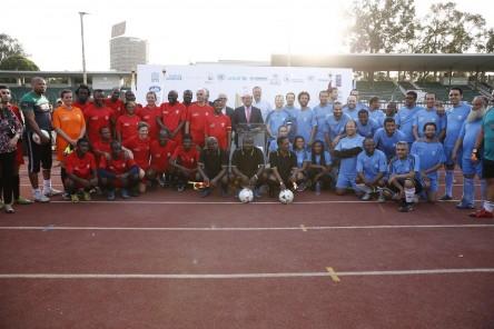 الأمم المتحدة والسفارات الفرنكوفونية يحتفلون بيوم الرياضة (2)