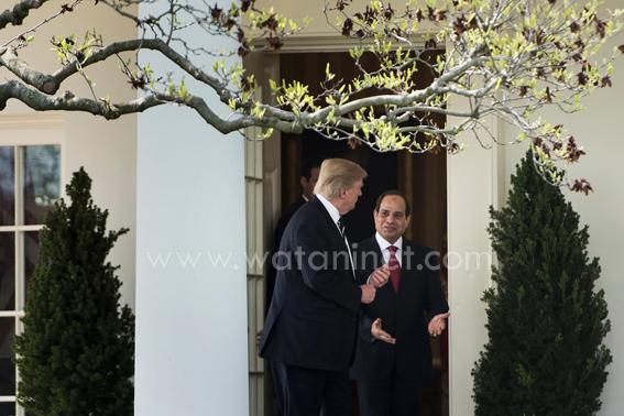 محاربة الارهاب قاربت بين السيسى وترامب واعادة العلاقات بعد حقبة اوباما(7)